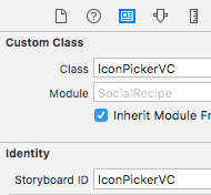 IconPickerVC identity